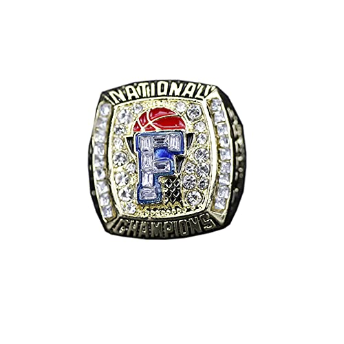 WSTYY NCAA University of Florida Alligators Championship Ring Hombre, Championship Anillo de réplica Personalizado Anillos de Diamantes para Hombres,Without Box,11#