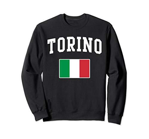 Italia Torino Turin Italy Italian Flag Italiano Men Women Sweatshirt