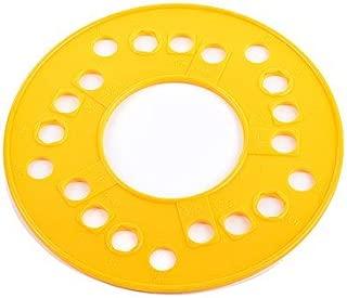 JEGS 80860 Wheel/Stud Bolt Circle Template