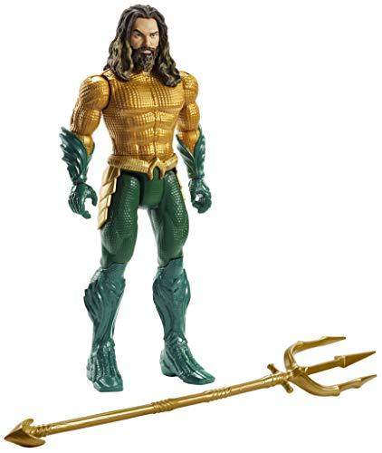 Justice League Figura Aquaman, 15 cm (Mattel Fwx60)
