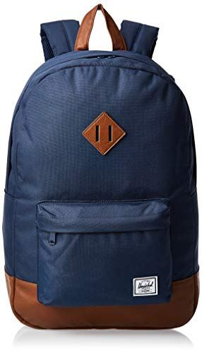 Herschel Heritage Backpack Mochila Tipo Casual  46 cm  21.5 Liters  Azul  Navy Tan