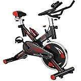 CJDM Bicicletas de Spinning, Equipos de Fitness para el hogar, Bicicletas estáticas de Pedales para Interiores, Empresa, Equipos de Entrenamiento de Gimnasio