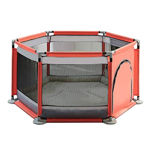 playpens for toddlers, Tents Infant Playpens with Soft Mat Children's Playground Hexagon Ball Pool Activity Area Fence Nursery Furniture