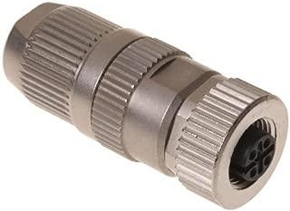 Circular Metric Connectors CIRCULAR CONNECTOR W. HARAX M12 L 4 F