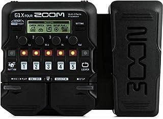 Zoom G1X FOUR - Pedal de efectos para guitarra con pedal de expresión