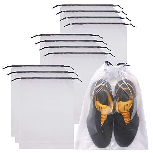 DIOMMELL Set of 12 Transparent Shoe…