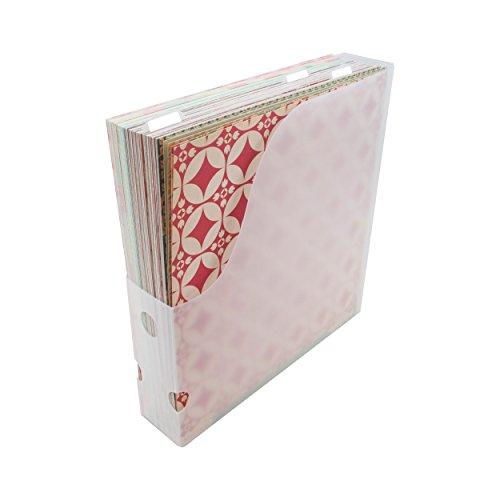 ADVANTUS CORPORATION Storage Studios Easy Access Papierhalter mit 3 Fächern Papierhalter Clear.