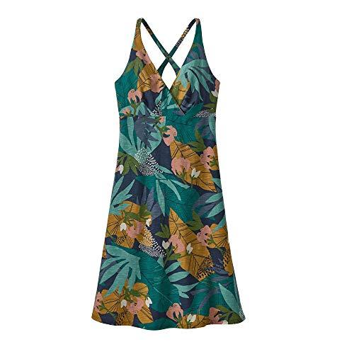 Patagonia W's Amber Dawn Dress Damen Kleid S die Baumwolle wild groß: Neue Marine