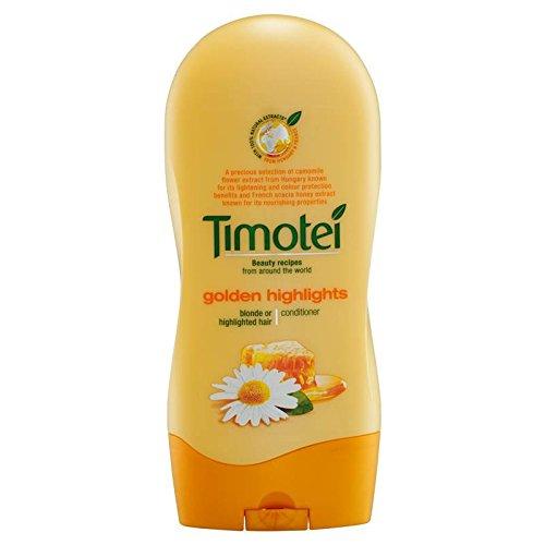 Timotei–Après shampoing Cheveux blonds–300ml