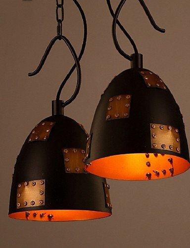 XY&XH lustre, Creative Lron Rétro Style Industriel Loft Couvercle Lustre Lampe Restaurant Bar Café Personnalité