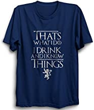 PrintBharat Men's & Women's Regular Fit T-Shirt