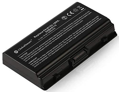 Globalsmart Batería para portátil Alta Capacidad para Toshiba PA3615U-1BRM 6 Celdas Negro