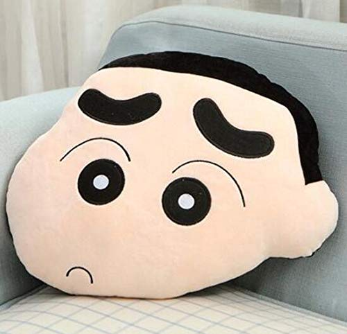 N / A Espressione Divertente Crayon Shin Chan Simpatico Peluche Hold Doll Cuscino Cuscino novità Giocattolo farcito Miglior Regalo per Bambini 45CM
