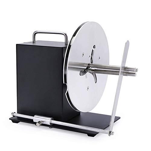 fang zhou 180mm Roestvrij Staal Automatische Label Rewinder, Verstelbare Tags terugspoelen Machine Synchroniseren met Printer - Instellen Roll Core - Bi-Directional Rollback