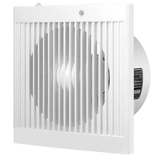 JYJZHX HQSBQISHAN Tubo de ventilación de Pared de 6 Pulgadas, Ventilador de Cocina, Inodoro, Ventilador silencioso, Extractor de baño, Ventilador de ventilación