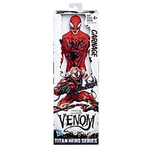 Marvel Venom Titan Hero Series Carnage Figure 30 cm