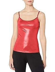 Gia Mia Dance Women's Metallic Camisole