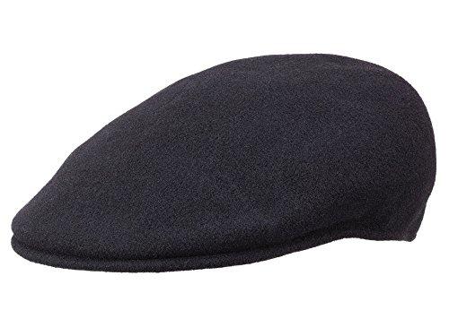 Kangol Casquette Plate Wool 504 Homme - Black - S