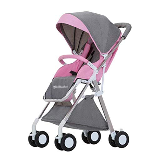 Amazing Deal ETERLY Adjustable Pushchair Stroller Baby Stroller Travel System Baby Stroller High Lan...