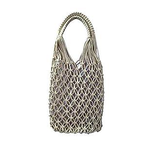 Vファッションデザインの女の子/女性のためのマクラメハンドバッグ(V Fashion Designs Macrame Hand Bag for Girls/Women)