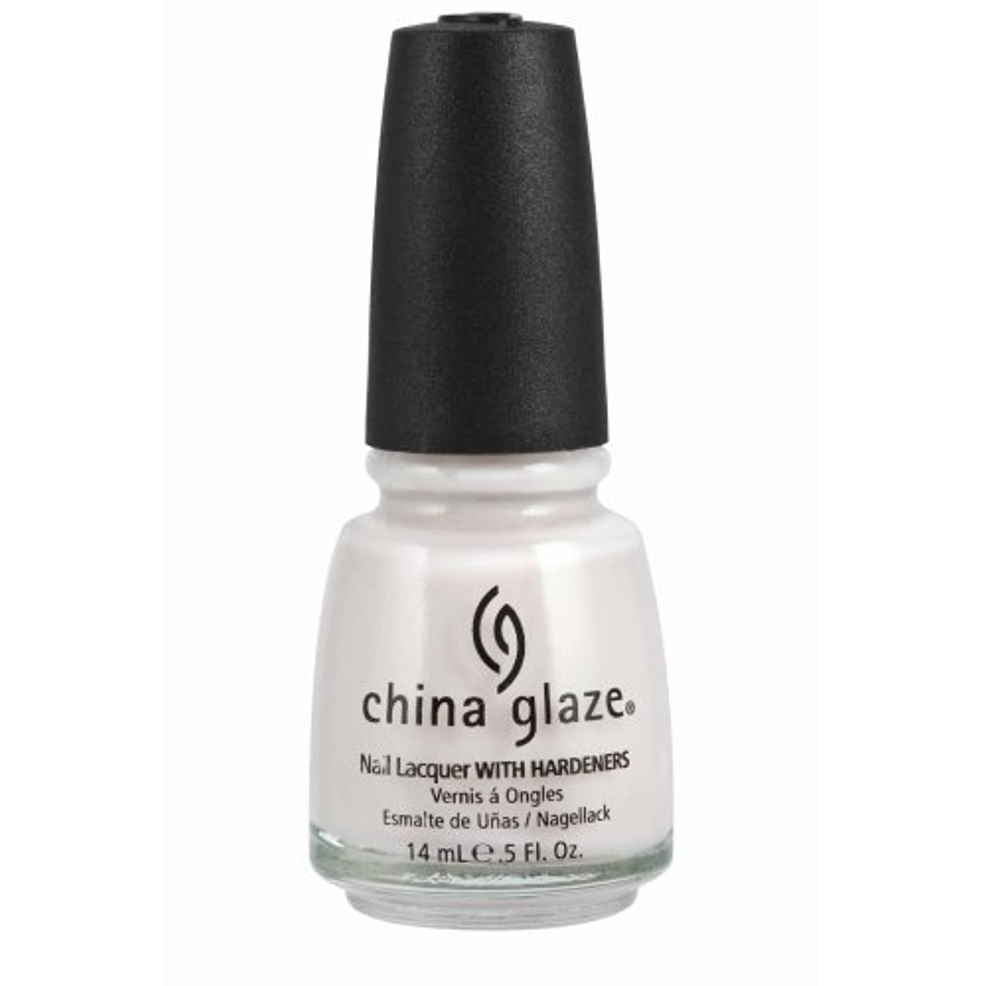 ティッシュ心理学ライセンスCHINA GLAZE Nail Lacquer with Nail Hardner - Oxygen (並行輸入品)