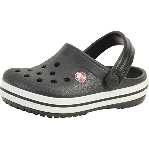 Crocs Unisex Kinder Crocband K Clogs, Black, 30/31 EU