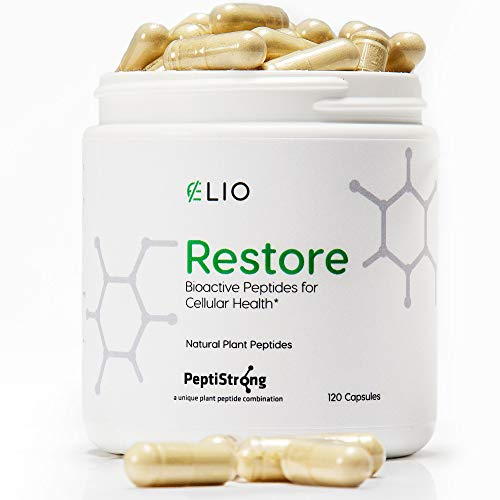 41zbvusMekL - Elio Restore NAD+ Boost Supplement - Anti-Aging Formula & Increase Cellular Health (Works with Nicotinamide Riboside) - Energy & Metabolism Support - 120 Vegetarian Capsules