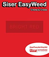 Siser EasyWeed アイロン接着 熱転写ビニール - 12インチ 1 Foot HTV4USEW12x12IN