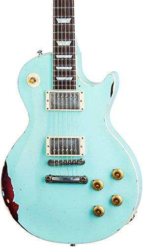 Gibson Les Paul Standard Kerry Green Over Dark Burst Aged