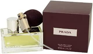 Prada Eau de Parfum Intense Deluxe Refillable Spray, 1.7 Ounce
