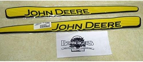 John Deere hood stripe decal set 102 105 115 125 LA100 LA105 LA110 X110 GX21912 GX21913