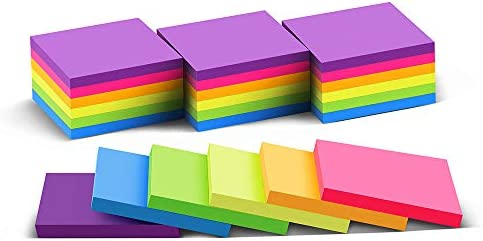 (24 Pack) Sticky Notes 3×3 in Post Bright...