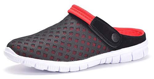 Eagsouni Garden Clogs Garden Shoes Mens Womens Mesh Slippers Beach Sandals Summer Lightweight Walking Slippers