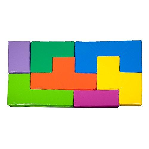 Kid Jeu De Tetris Géant en Mousse - 7 Pièces