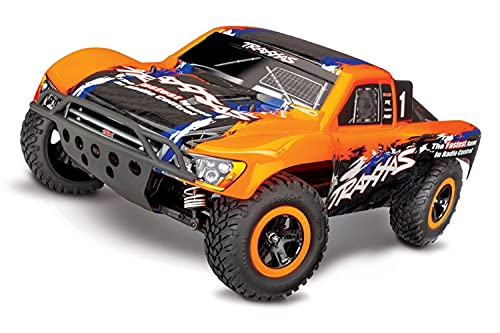 Traxxas Slash 4X4: 1/10 Scale 4WD Electric Short Course Truck with TQi Link Enabled 2.4GHz Radio System & Traxxas Stability Management (TSM)