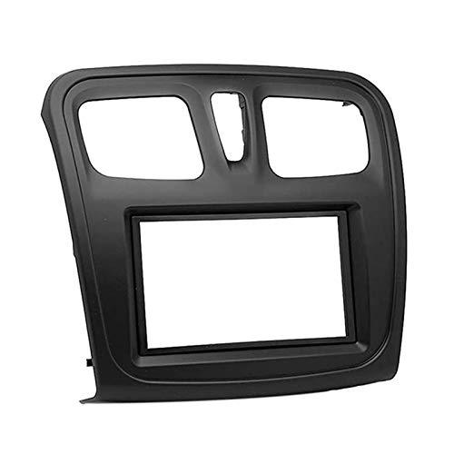 Rumors 9inch Car Fascia Audio Audio Aplicación del Adaptador Panel DVD Frame Dashboard Fit para Renault SANDERO/SÍMBOLO 2014-2017