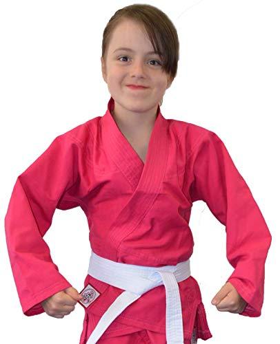 Keiko Kimono Reforçado Juvenil, M4, Judô/Jiu-Jitsu/Karatê, Rosa