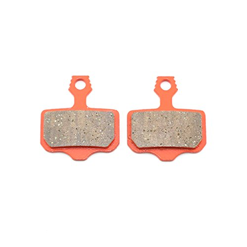 Bike Disc Brake Pads for Shimano DS-01S M355 M395 M446 M485 M495 Replacement Pads for Tektro Orion Gemini Auriga Draco Made of Kevlar Fiber and Copper Stronger Braking Power Less Noise (for-Shimano)