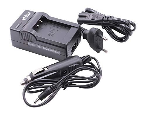 vhbw Cargador batería Compatible con Sony Cybershot DSC-HX350, DSC-HX80, DSC-HX90 baterías cámaras, videocámaras, DSLR, de acción -Soporte Carga
