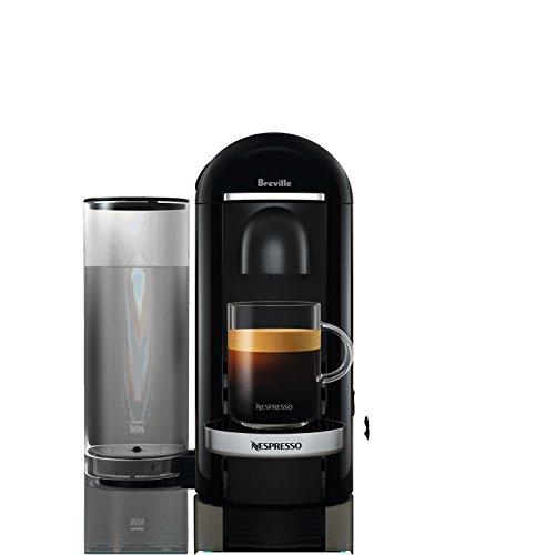 Breville-Nespresso USA BNV450BLK1BUC1 VertuoPlus Coffee and Espresso Machine, 14.8 x 11 x 15.5 inches, Bundle - Black