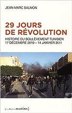 29 jours de révolution - Histoire du soulèvement tunisien, 17 septembre 2010 - 14 janvier 2011 de Jean-marc Salmon