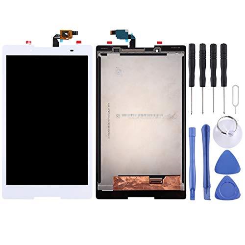 YUKIKI LCD Screen and Digitizer Full Assembly for Lenovo Tab3 8 / TB3-850 / TB3-850F / TB3-850M (Black) (Color : White)