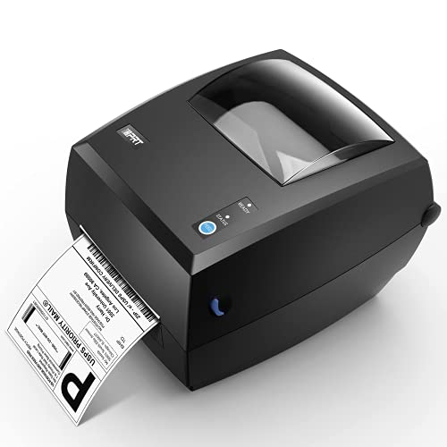 Thermal Label Printer - iDPRT SP420, Direct Thermal Printer, High Speed 150mm/s, Shipping Label Maker, Home&Office Label Machine, Work with Windows&MAC, Compatible with USPS, Amazon, Ebay, etc.
