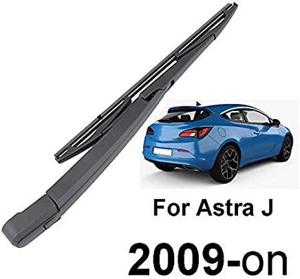 Xukey Rear Windscreen Wiper Blade & Arm Set Fit For Astra J MK6 GTC 2009-