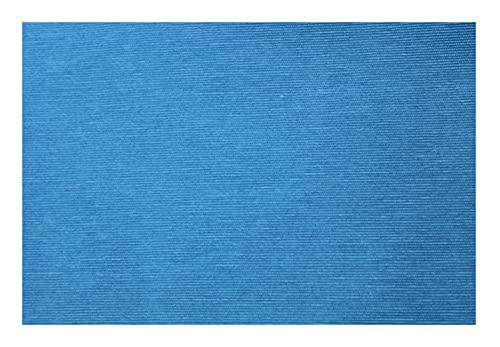Acomoda Textil - Tela por Metros Loneta Colores Lisos, Loneta para Tapizar, Manualidades y Forrar. 280 cm Ancho. (Azul, 1 Metro)