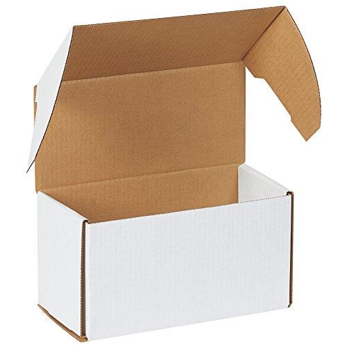 aviditi mez1055Außen gewellt Tuck Versandbox, 10–5/40,6cm Länge x 12,7cm Breite x 5–9/40,6cm Höhe, Oyster Weiß (Bundle Of 50)