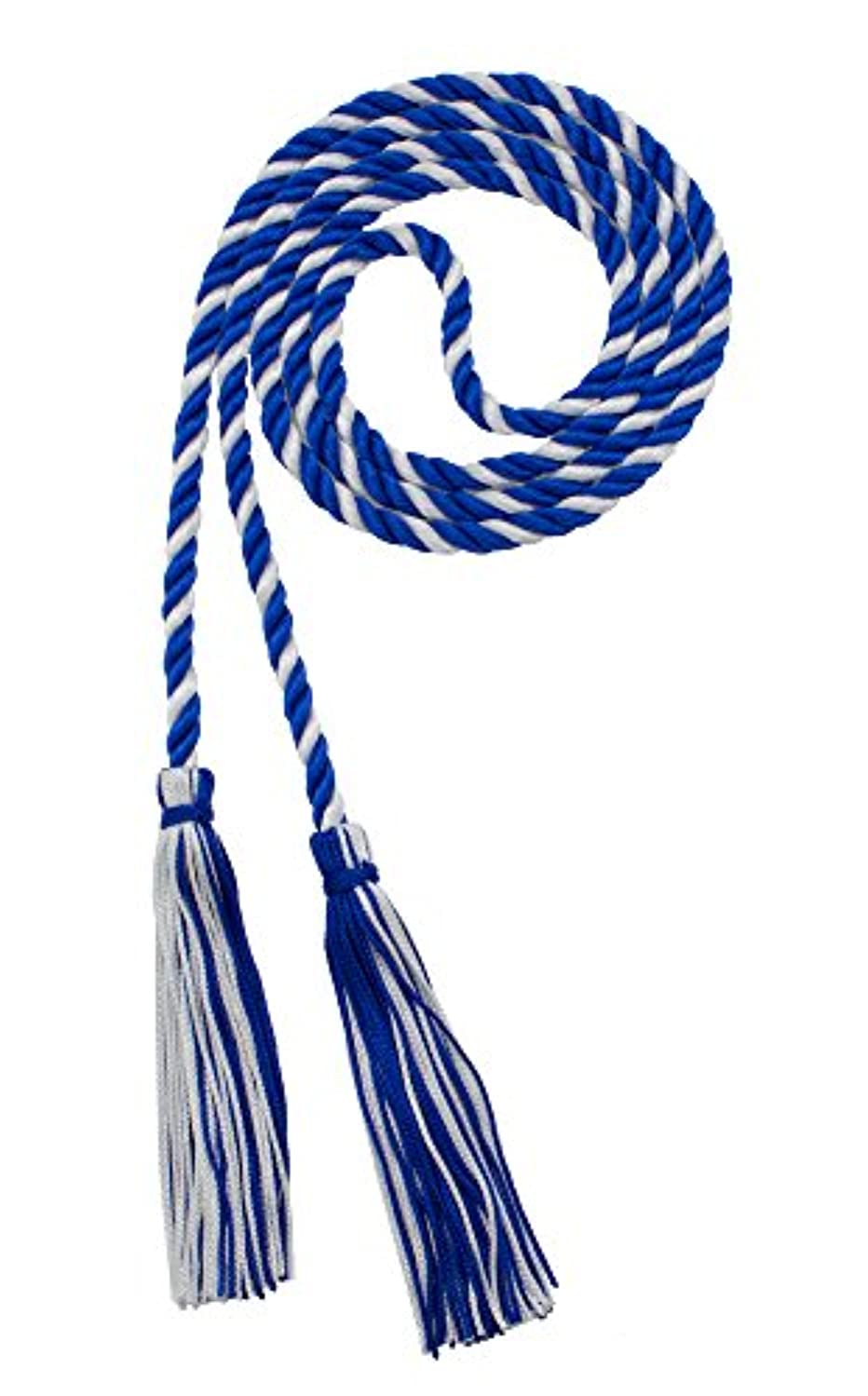 HONOR CORD ROYAL/WHITE - TASSEL DEPOT BRAND - MADE IN USA