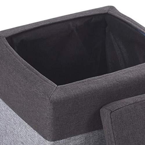 Goede salontafel Tv-staander lamp telefoontafel sofa bijzettafel eiken tafel Xi Man Shop ruimte opbergkruk regenboog solide tafelkruk schoenen in de entree sofa tafelkruk (kleur: paars), MK grijs