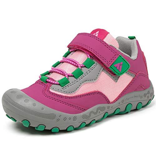 Mishansha Zapatos de Running Niñas Zapatillas Deportivas Transpirable Antideslizante Zapatos de Senderismo...