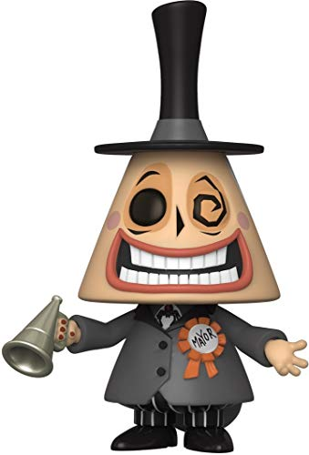 Funko- Pop Disney: The Nightmare Before Christmas-Mayor w/Megaphone w/Chase (El diseno Puede Variar) Figura Coleccionable, Multicolor (48181)